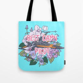 Best Damn Pilot Tote Bag