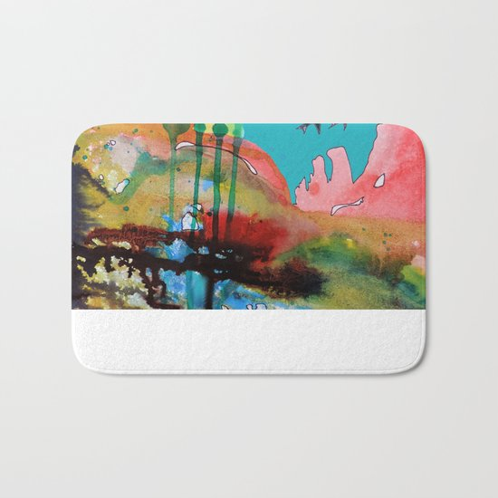 adventure of a lifetime Bath Mat