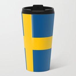 flag of sweden Travel Mug