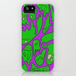 Green Ghosties iPhone Case