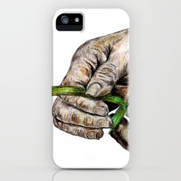 when life is getting out of hand; i'll be there to help you stand! iPhone Case