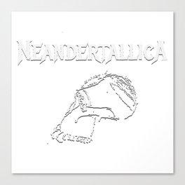Neandertallica #2 Dark Canvas Print
