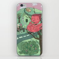 bread iPhone & iPod Skins featuring Bread Bus by valentineje