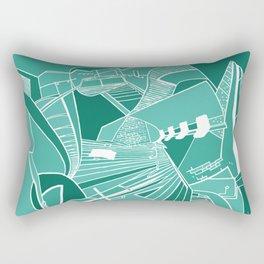 PARISIAN SUBWAY Rectangular Pillow