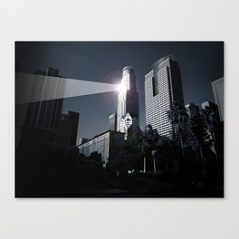 Dooms day LA Canvas Print