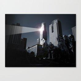 Dooms day LA Canvas Print