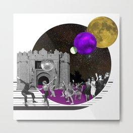 dancing in the moon light Metal Print