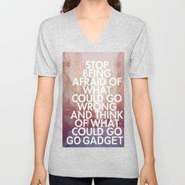 Go Go Gadget! Unisex V-Neck
