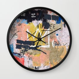 Boom For Real Wall Clock