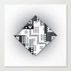 black abstract Canvas Print