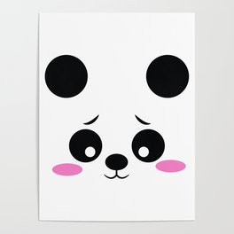 Panda Funny Pregnancy Announcement Poster
