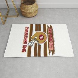 49ers club san francisco Rug