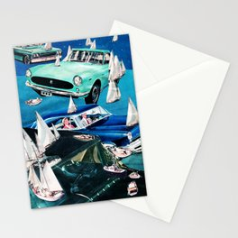 Ocean Roads Stationery Cards