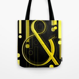 AmpersandWich           ----      Typography Tote Bag