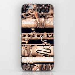 Complex Metal Playing Field iPhone Skin