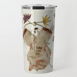I think I like you... Travel Mug