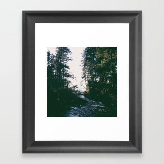 Short Sands Framed Art Print