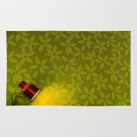 wallpaper Area & Throw Rugs featuring Wallpaper by Georgios Karamanis