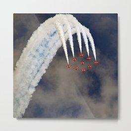 aerobatic aircraft airshow Metal Print