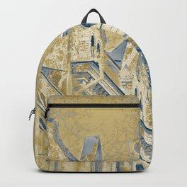 Golden evening Backpack