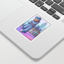 BBoy Stance Sticker