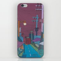 seoul iPhone & iPod Skins featuring Seoul City #2 by Rob McClelland