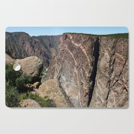 Painted Black Canyon of the Gunnison Walls Cutting Board