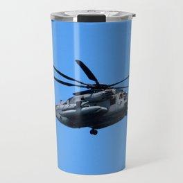 Marine Helicopter In Flight Travel Mug
