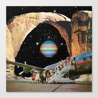 Canvas Prints featuring Destined to Destination by Eugenia Loli