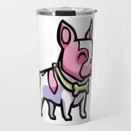 Pink Gorilla X Enfu Bulldog Travel Mug