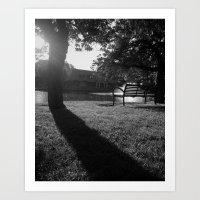 Taylor Park, Millburn Art Print