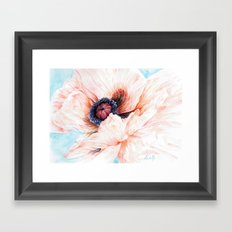 Oriental Poppy Framed Art Print