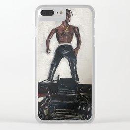 TRAVIS RODEO SCOTT Clear iPhone Case