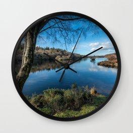 Gwydyr Forest Lake Wall Clock