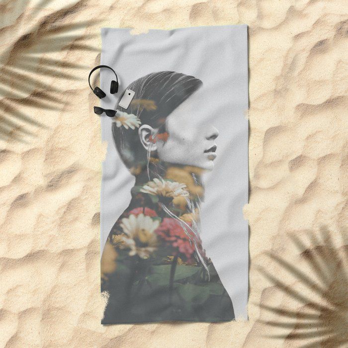 inner garden 2 Beach Towel