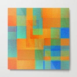 Decor - Geometric Metal Print