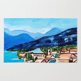 Lake Garda, Italy Rug
