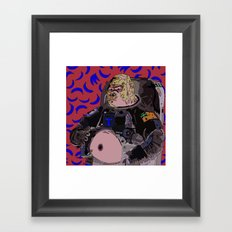 Trevor the Space Gorilla Framed Art Print