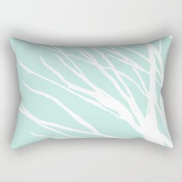 Aqua Blues Rectangular Pillow