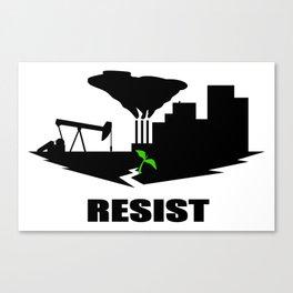 Resist #2 Canvas Print