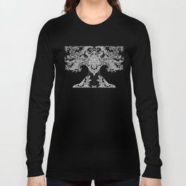 Unity of Halves - Life Tree - Rebirth - Black Long Sleeve T-shirt
