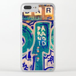 Graffiti Clear iPhone Case