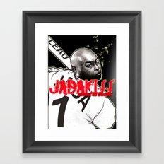 Jadakiss Portrait Framed Art Print