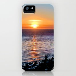 San Pedro Sunset iPhone Case