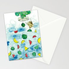 Why Watermelon Drop from Bottle? Stationery Cards