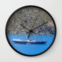 SAILING THE WEST INDIES............ Wall Clock