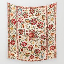 Nurata Suzani Bokhara Uzbekistan Embroidery Print Wall Tapestry