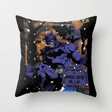 A Death In The Family Throw Pillow