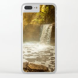 Thermal Waterfall- Wai O Tapu Clear iPhone Case