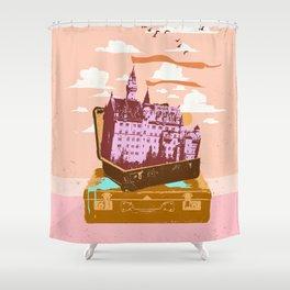 TRAVEL CASTLE Shower Curtain
